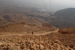 Snake Path from Top of Masada