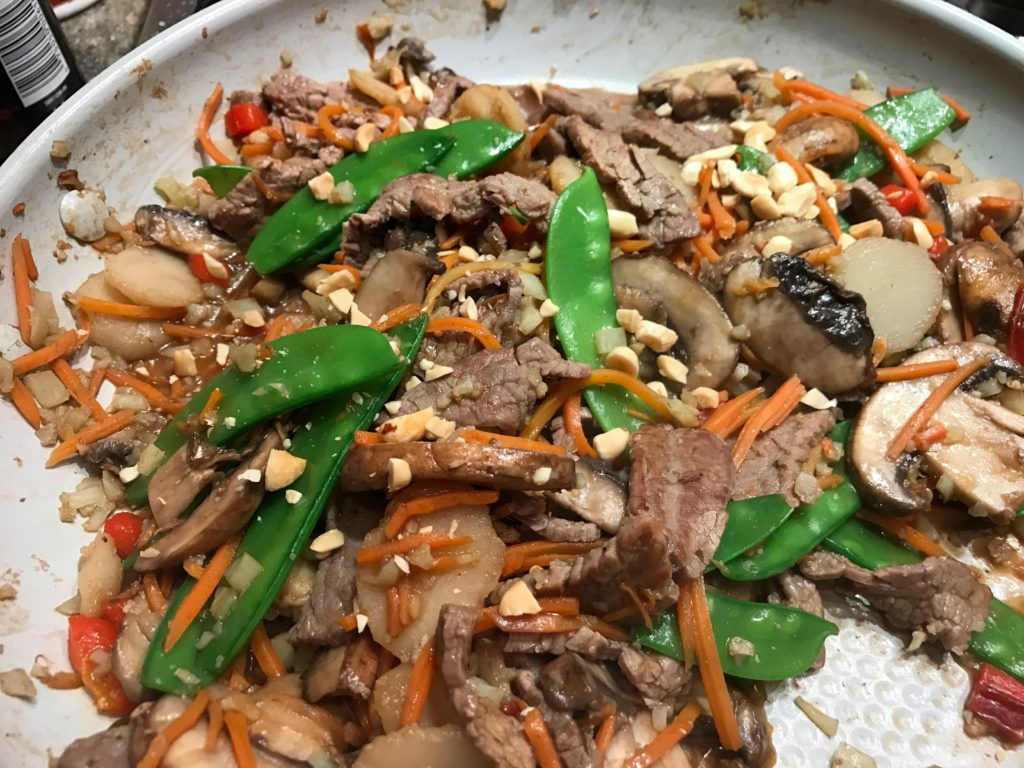 Beef and Vegetable Stir Fy