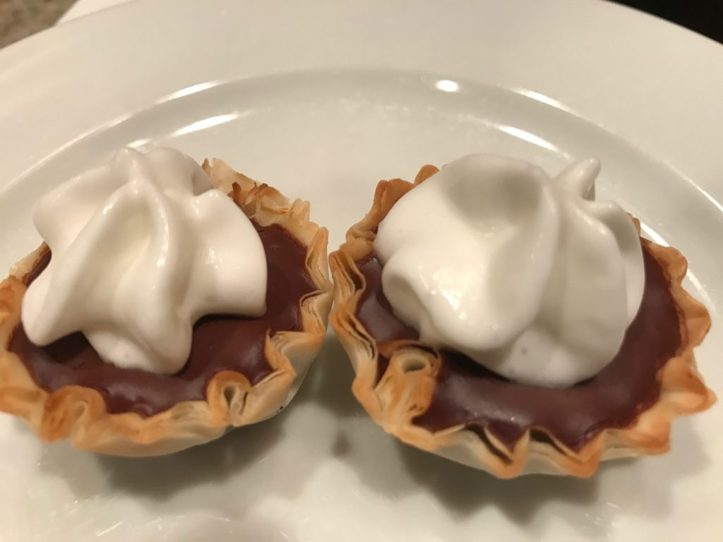 Dark Chocolate Sea Salt Tartlets
