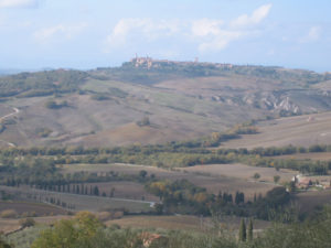 View from Montechiello