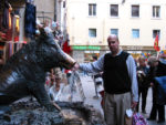 Rubbing the Boar