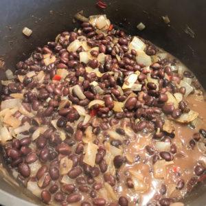 Chili Lime Black Bean Soup